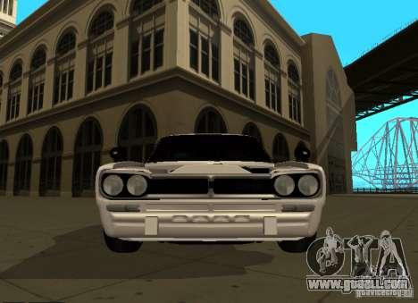 Nissan Skyline 2000 GT-R for GTA San Andreas inner view
