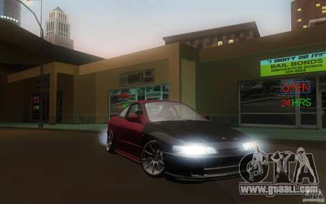 Honda Integra JDM for GTA San Andreas back view