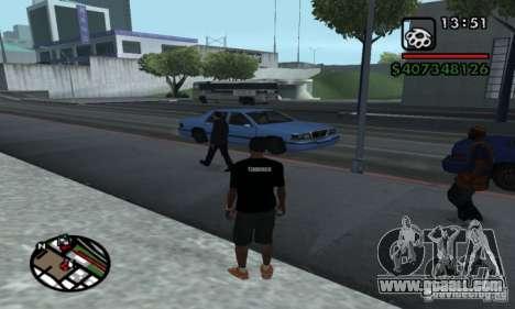 T-shirt codered for GTA San Andreas second screenshot