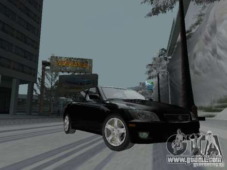 Lexus IS300 for GTA San Andreas back left view