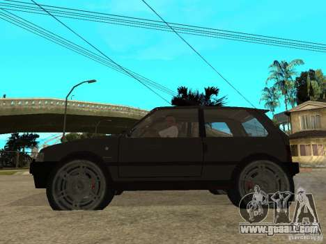 Kia Pride for GTA San Andreas left view