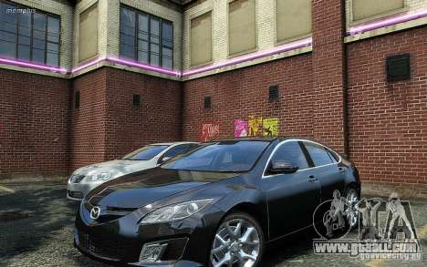 Mazda 6 2008 for GTA 4 right view