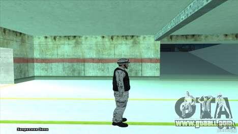 Army Soldier v2 for GTA San Andreas forth screenshot