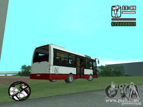 Ikarus E91 for GTA San Andreas back left view