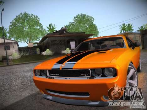 Dodge Challenger SRT8 v1.0 for GTA San Andreas right view