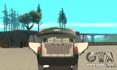 BMW X3 2.5i 2003 for GTA San Andreas side view