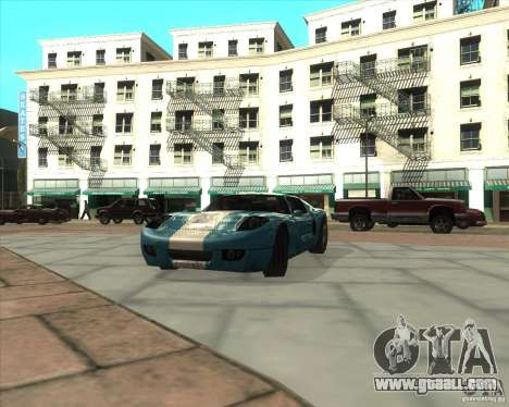 MOD from Jyrki for GTA San Andreas
