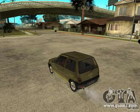OKA 1111 Kamaz for GTA San Andreas left view