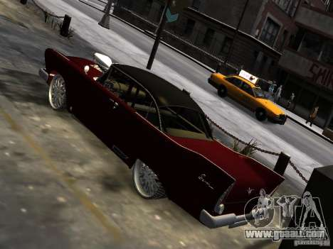 Plymouth Savoy Club Sedan 1957 Dragster Final for GTA 4 right view