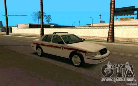 Ford Crown Victoria South Dakota Police for GTA San Andreas right view