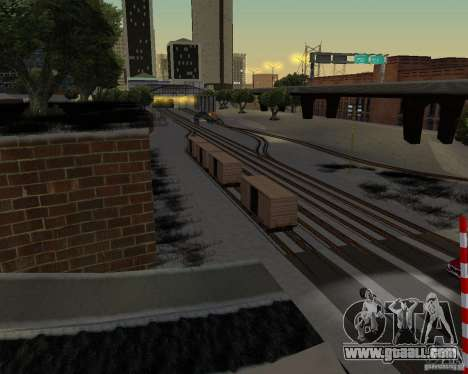 New railway station for GTA San Andreas second screenshot