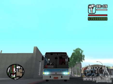 Marcopolo Torino GV Trolebus for GTA San Andreas side view