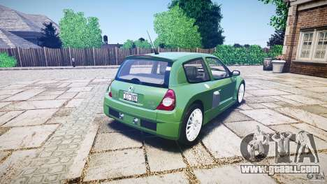 Renault Clio V6 for GTA 4 upper view