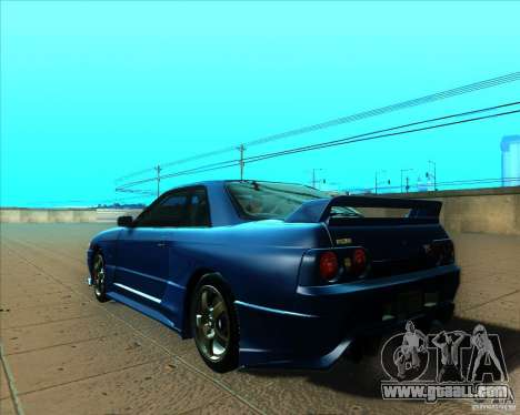 Nissan Skyline GT-R R32 1993 Tunable for GTA San Andreas interior
