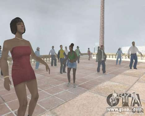 Madd Doggs party for GTA San Andreas third screenshot