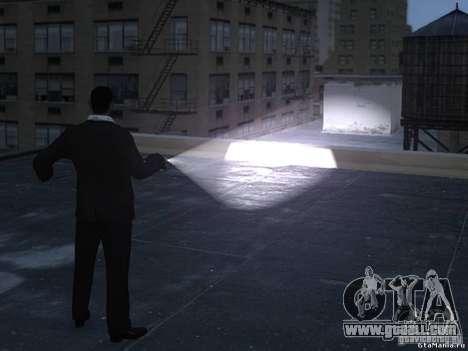 Flashlight 4 Weapons v1.0 for GTA 4 second screenshot