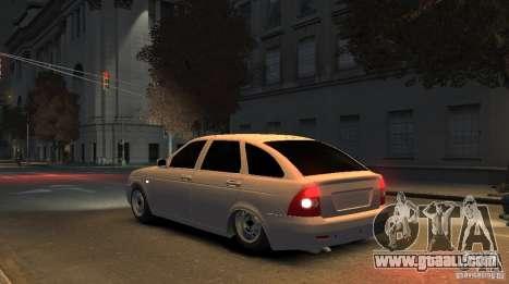 VAZ Lada Priora 2172 for GTA 4 left view