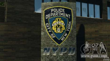 Remake second police station for GTA 4 forth screenshot