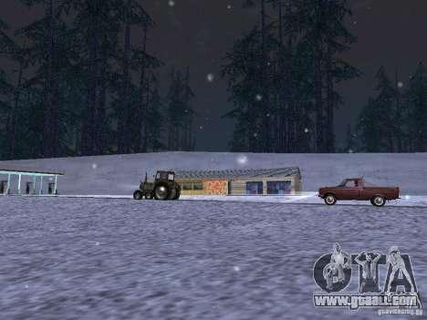 Snow for GTA San Andreas sixth screenshot