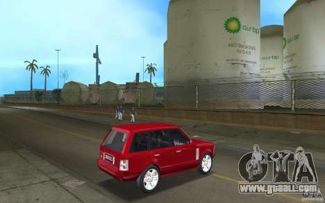 Range Rover Vogue 2003 for GTA Vice City