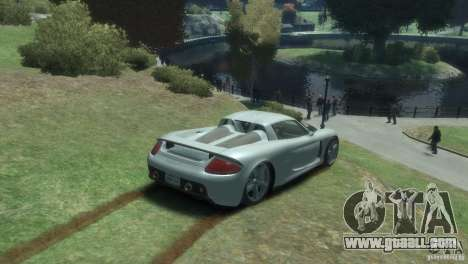 Porsche Carrera GT for GTA 4 right view