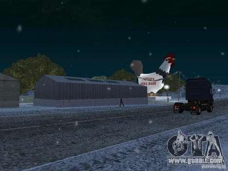 Snow for GTA San Andreas fifth screenshot