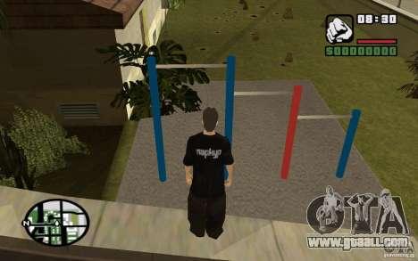Horizontal Bars for GTA San Andreas second screenshot