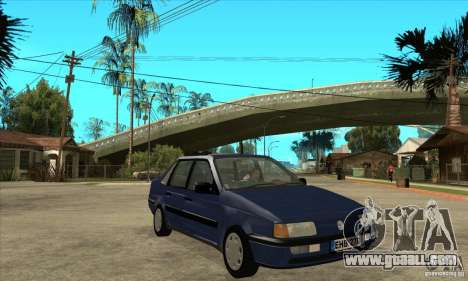 Volkswagen Passat B3 Stock for GTA San Andreas back view