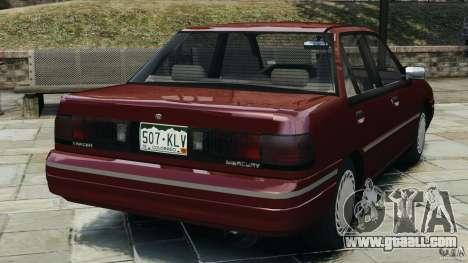 Mercury Tracer 1993 v1.1 for GTA 4 back left view