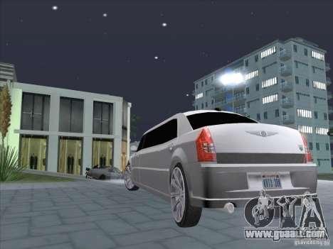 Chrysler 300C Limo for GTA San Andreas left view