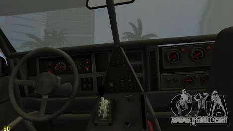 Jeep Cherokee 1984 Sandking for GTA Vice City back view