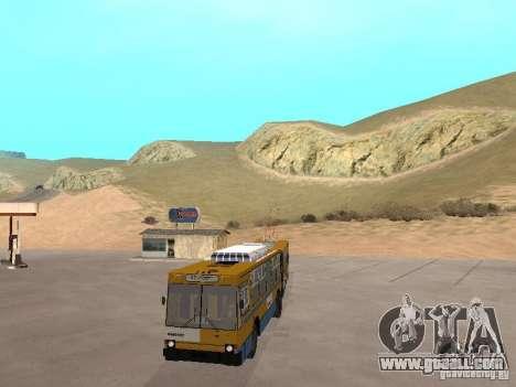 YUMZ T1 for GTA San Andreas inner view