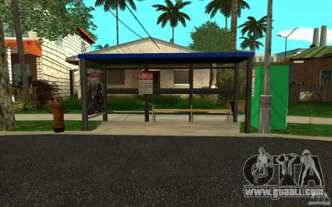 New bus stop for GTA San Andreas forth screenshot
