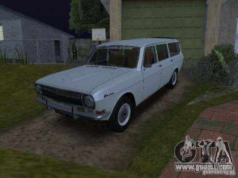 GAZ 24-02 for GTA San Andreas