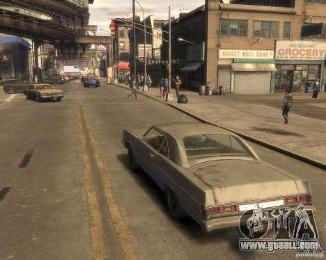 1975 Dodge Dart Rust for GTA 4 left view