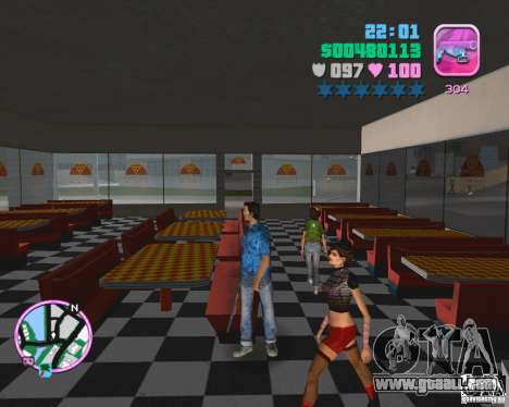 Skin from the BETA version for GTA Vice City third screenshot