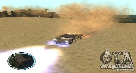 Xenon v4 for GTA San Andreas third screenshot
