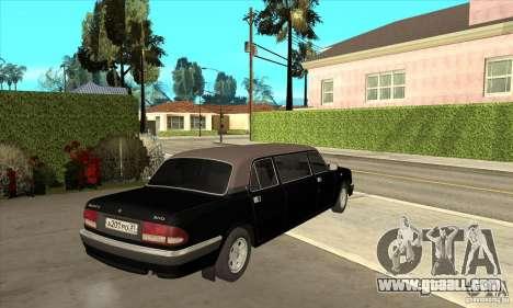 GAZ 3110 Sedan for GTA San Andreas right view