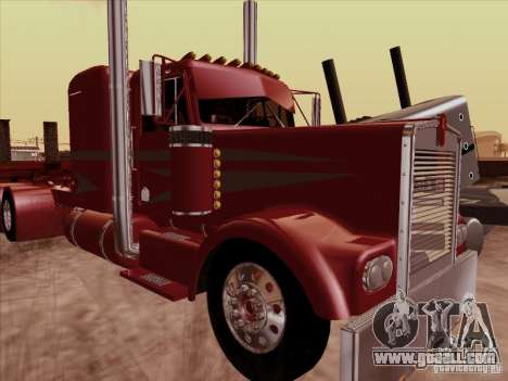 Kenworth W 900 1974 Custom for GTA San Andreas left view