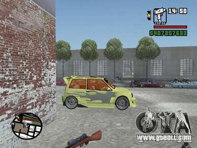 1111 OKA (tuning) for GTA San Andreas upper view