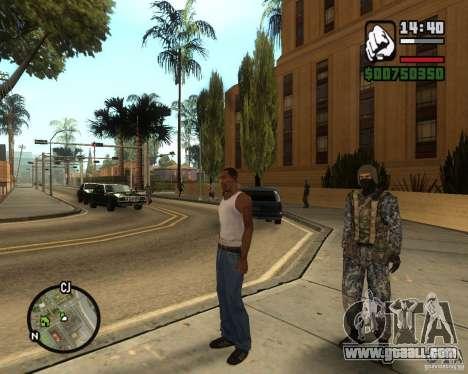 Russian RIOT POLICE for GTA San Andreas third screenshot