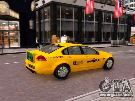 Holden NYC Taxi V.3.0 for GTA 4 right view