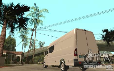 Mercedes-Benz Sprinter 313cdi for GTA San Andreas
