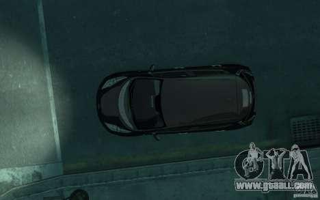 Nissan Leaf 2011 for GTA 4 inner view