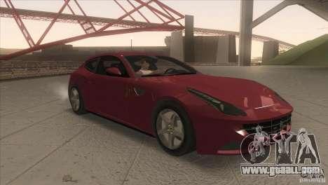 Ferrari FF 2011 V1.0 for GTA San Andreas back view