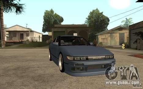 Nissan Silvia80 - EMzone Edition for GTA San Andreas back view