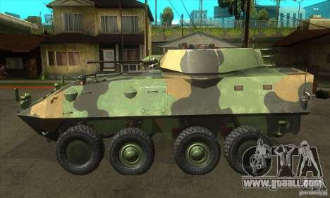 LAV-25 for GTA San Andreas left view