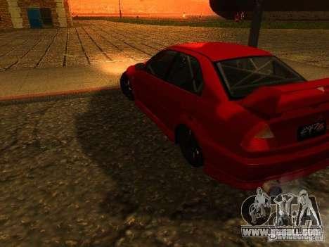 Mitsubishi Lancer Evolution VI GSR 1999 for GTA San Andreas left view