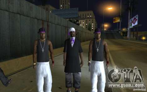 The Ballas Gang [CKIN PACK] for GTA San Andreas
