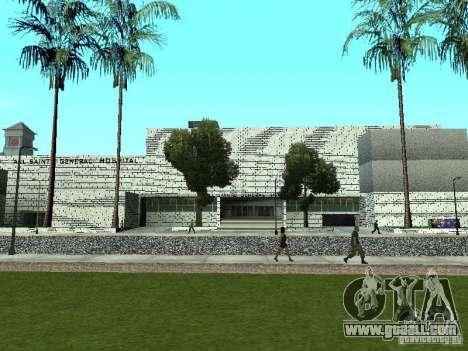 All Saints hospital for GTA San Andreas